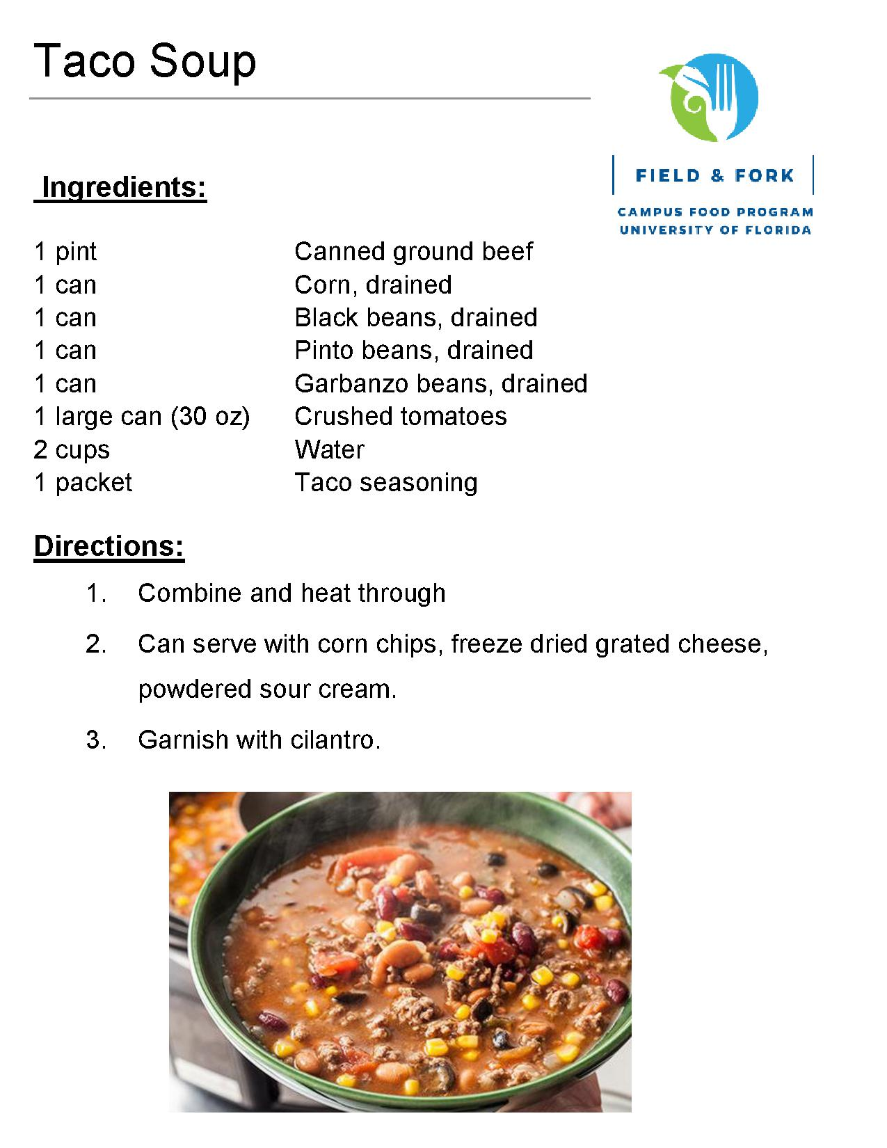 Recipes the pantry download the taco soup recipe in pdf forumfinder Gallery